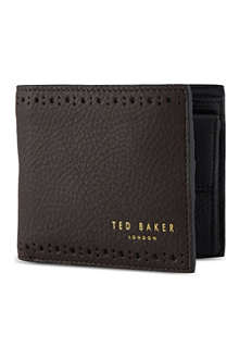 TED BAKER Leather billfold wallet