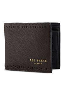 TED BAKER Leather billfold wallet