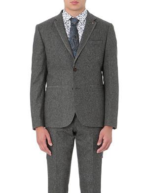 TED BAKER Forel flannel blazer