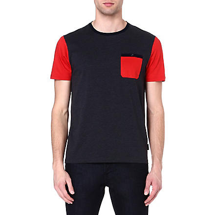 TED BAKER Pindow jersey t-shirt (Charcoal