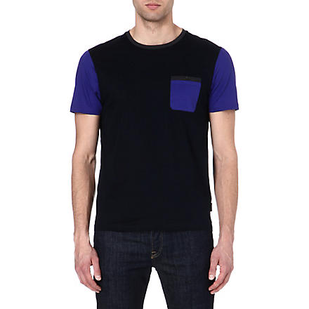 TED BAKER Pindow jersey t-shirt (Navy