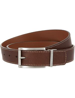 TED BAKER Bream reversible leather belt