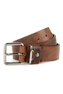 TED BAKER Katchit leather belt