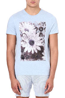 TED BAKER Graphic-print cotton t-shirt
