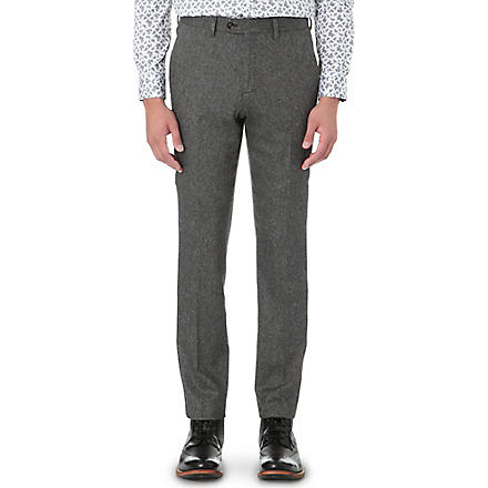 TED BAKER Foretro flannel trousers (Grey