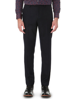 TED BAKER Foretro flannel trousers