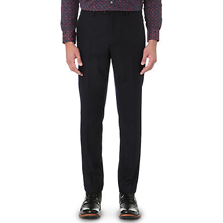 TED BAKER Foretro flannel trousers (Navy
