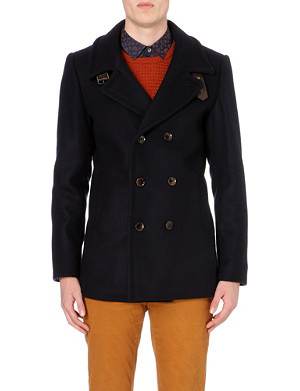 TED BAKER Nojorah double breasted peacoat
