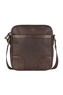 TED BAKER Raynono embossed flight bag
