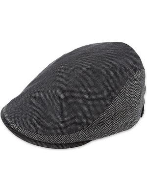 TED BAKER Herringbone flat cap