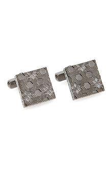TED BAKER Gresham metal detail cufflink