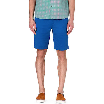 TED BAKER Chino shorts (Bright blue