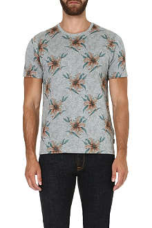 TED BAKER Mintell floral-printed t-shirt