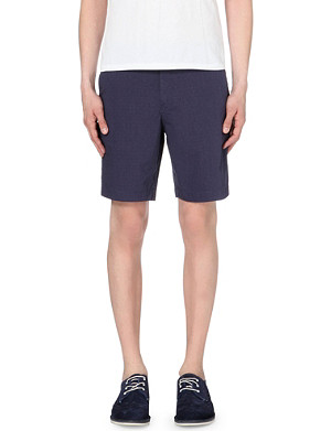 TED BAKER Regular-fit stretch-cotton shorts