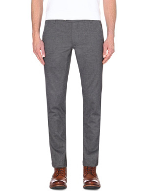 TED BAKER Slim-fit cotton chinos