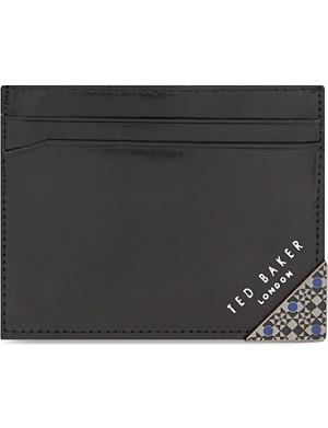 TED BAKER Enamel corner card holder