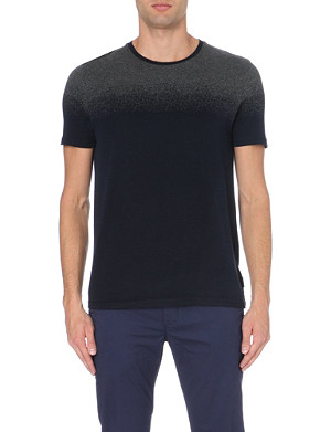 TED BAKER Ombre crew-neck top