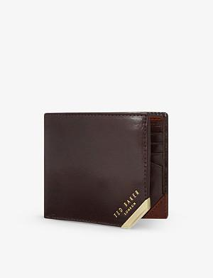 TED BAKER Metal corner wallet