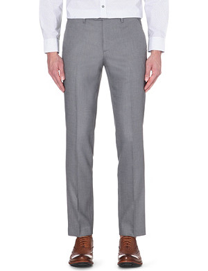 TED BAKER Woven patterned trousers