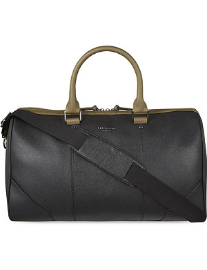 TED BAKER Alaskaa contrast handle holdall