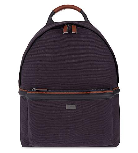ted baker brandor canvas backpack. Black Bedroom Furniture Sets. Home Design Ideas