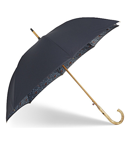 TED BAKER Bucket Print walker umbrella (Navy