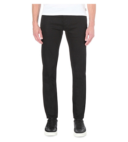 TED BAKER Regular-fit straight jeans (Black