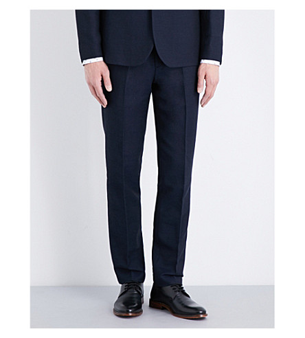 TED BAKER Harvtro woven trousers (Navy