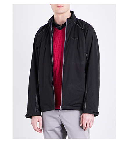 TED BAKER Swanson shell jacket (Black