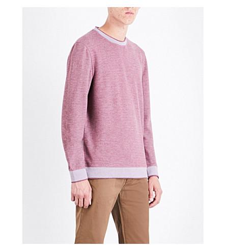 TED BAKER Kaspa jersey sweatshirt (Purple