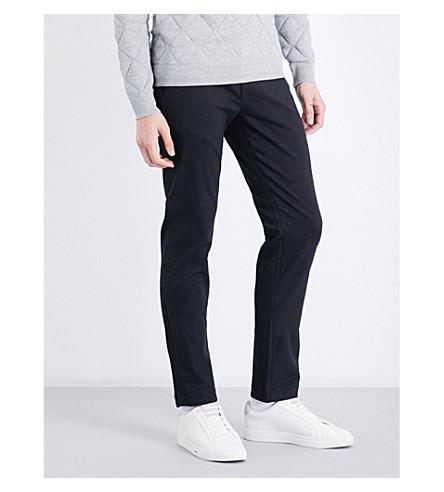 TED BAKER Texpant 修身版型棉混纺裤子 (炭