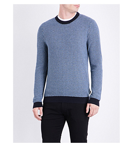 TED BAKER Coftini knitted jumper (Blue