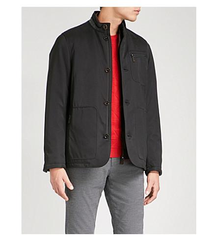 TED BAKER 可拆卸-面板加厚夹克 (黑色