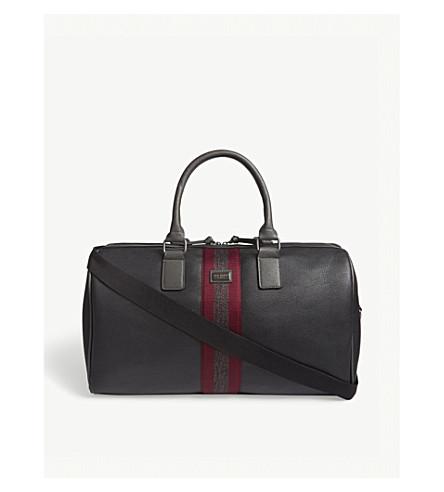 TED BAKER Nagini faux-leather holdall bag (Black
