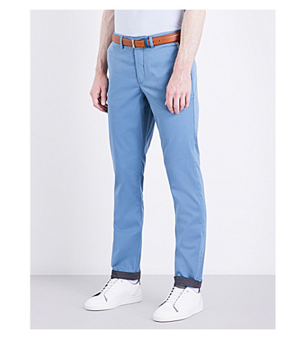 TED BAKER Golftro water-repellent stretch chinos (Blue