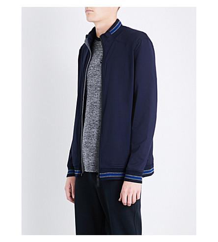 TED BAKER Sporty jersey jacket (Navy