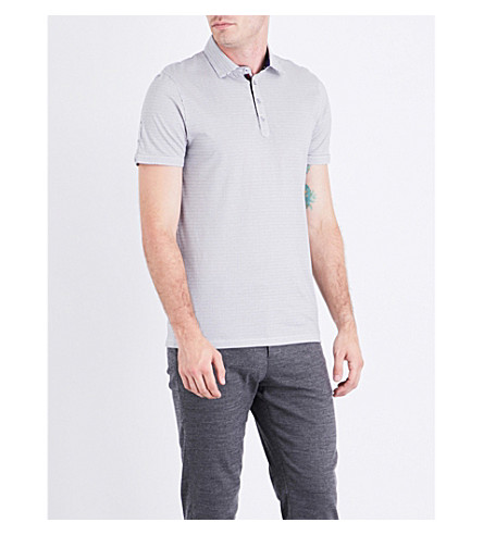 TED BAKER Keegs cotton polo shirt (Navy