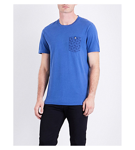 TED BAKER Bothy cotton T-shirt (Blue