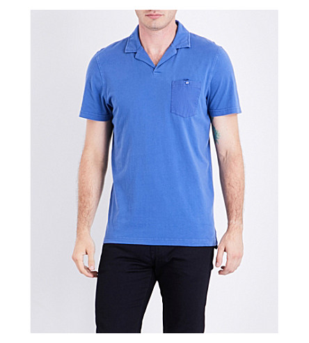 TED BAKER Stelly cotton polo shirt (Blue