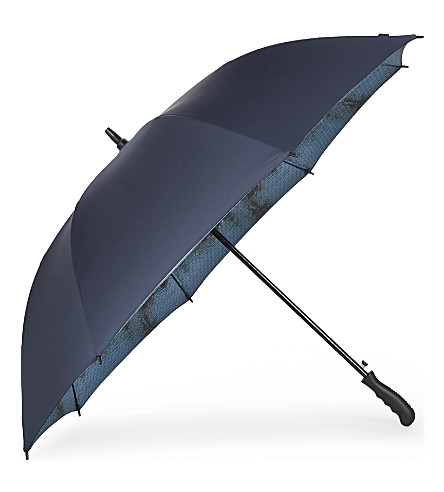 TED BAKER Walk Palm Springs umbrella (Navy
