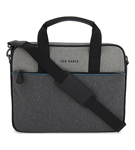 TED BAKER MAKA document bag (Grey