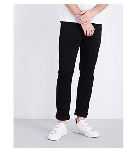 TED BAKER Regular-fit tapered jeans (Black