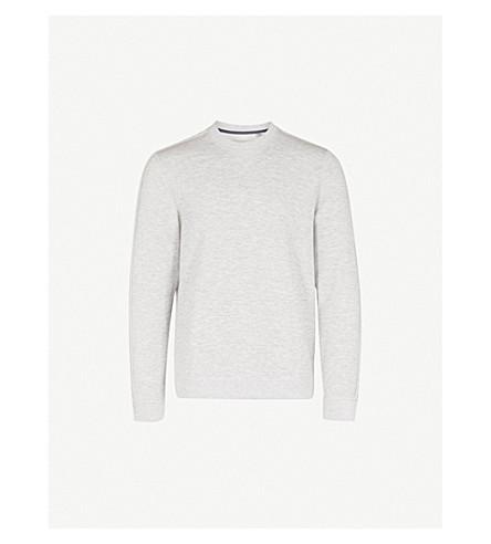 TED BAKER Crewneck jersey sweatshirt (Light+grey