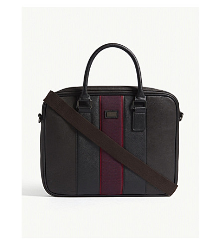 TED BAKER Merman document bag (Chocolate