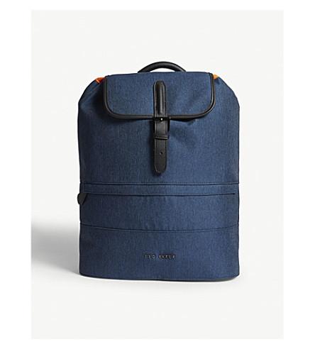 TED BAKER Rayman nylon backpack (Blue