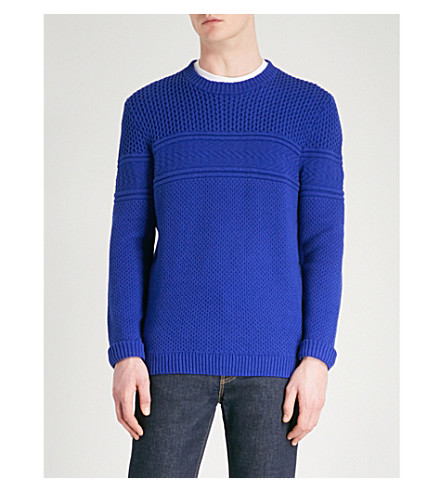 TED BAKER Blubery knitted jumper (Blue