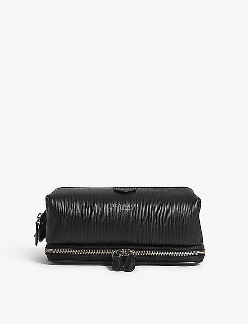 TED BAKER Kitter textured leather wash bag