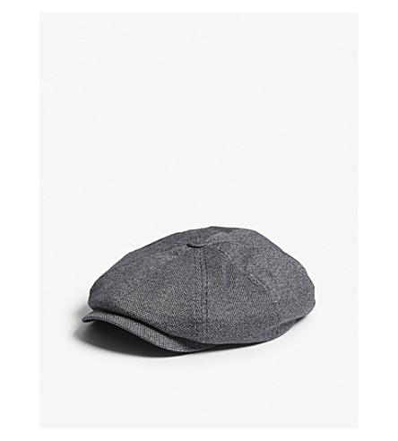 TED BAKER Jarlow Baker Boy cotton hat (Navy