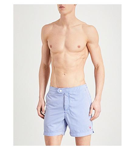 TED BAKER Selwyn striped swim shorts (Blue