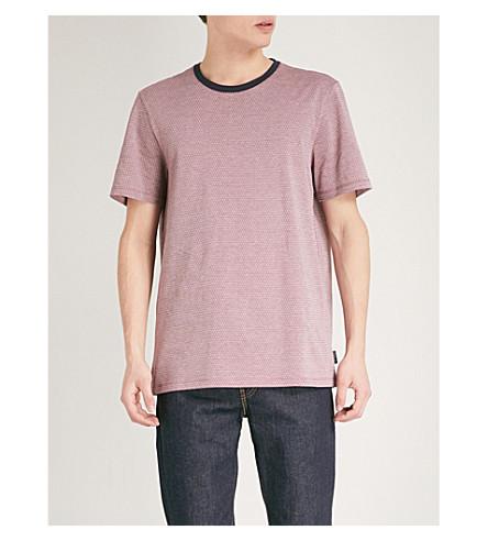de rosa BAKER camiseta camiseta Terry algodón TED qO6anw